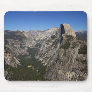 Mousepad Vale de Yosemite e meia abóbada do ponto da geleir