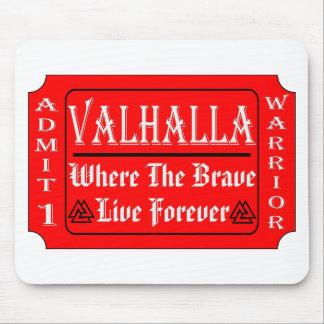 Mousepad Valhalla admite 1 guerreiro onde o bravo pode