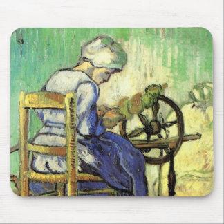 Mousepad Van Gogh, girador, arte do impressionismo do