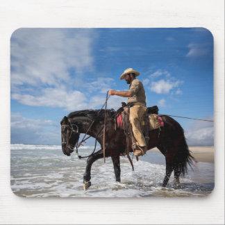 Mousepad Vaqueiro e cavalo