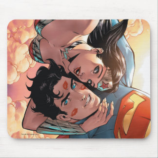 Mousepad Variação cómica do cobrir #11 do superman/mulher
