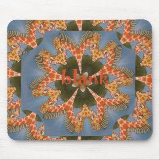 Mousepad Vazio colorido africano surpreendente bonito do