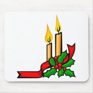 Mousepad Velas do Natal