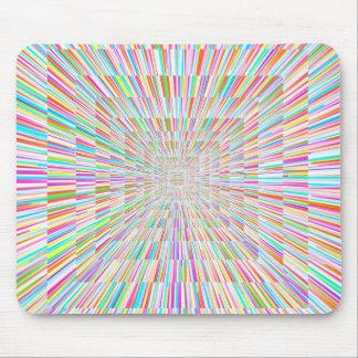 Mousepad Velocidade da urdidura do arco-íris