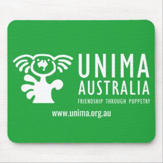 Mousepad VERDE do tapete do rato de UNIMA Austrália