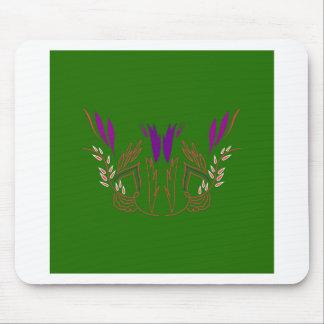 Mousepad Verde Eco da mandala do design