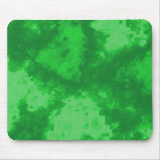 Mousepad Verde líquido abstrato do inclinação de Aquarell