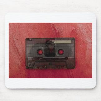 Mousepad Vermelho do vintage da música da cassete de banda