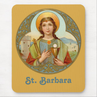 Mousepad Vertical do St. Barbara (BK 001)