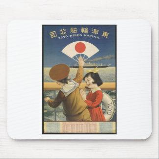 Mousepad Viagens vintage Japão
