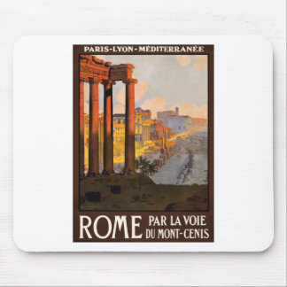 Mousepad Viagens vintage Roma Italia 1920