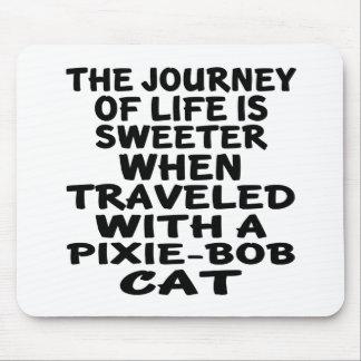 Mousepad Viajado com gato de Duende-Bob