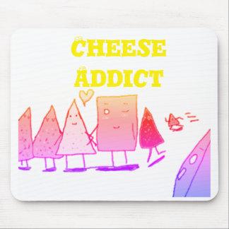 Mousepad Viciado do queijo