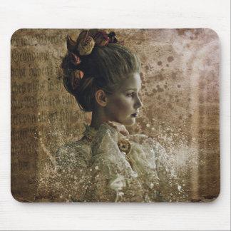 Mousepad Victorian do fantasma da senhora do vintage