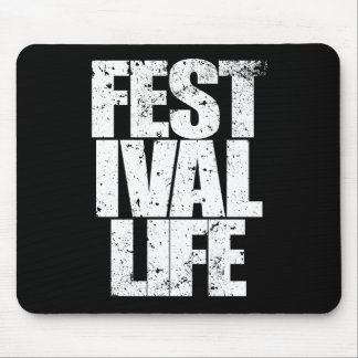 Mousepad VIDA do FESTIVAL (branca)