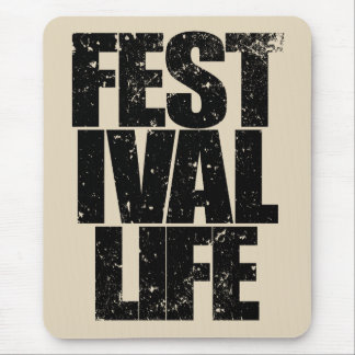 Mousepad VIDA do FESTIVAL (preto)