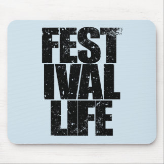 Mousepad VIDA do FESTIVAL (preto)