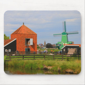 Mousepad Vila holandesa do moinho de vento, Holland 4