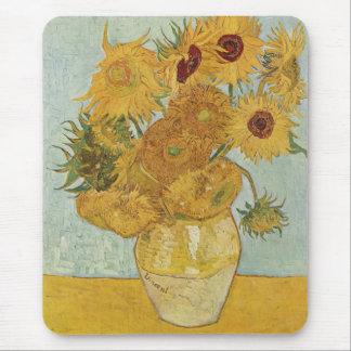 Mousepad Vincent van Gogh - girassóis