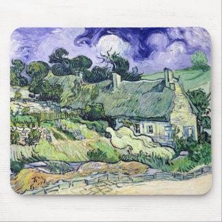 Mousepad Vincent van Gogh | Thatched casas de campo em