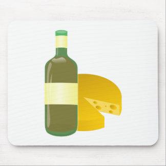 Mousepad Vinho e queijo