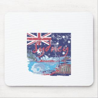 Mousepad vintage Austrália de sydney