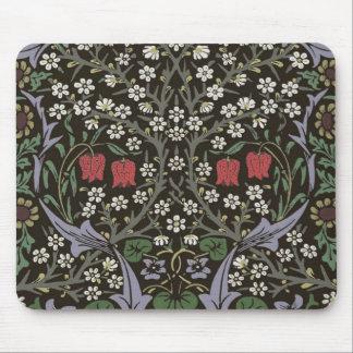 Mousepad Vintage da tapeçaria da ameixoeira-brava de