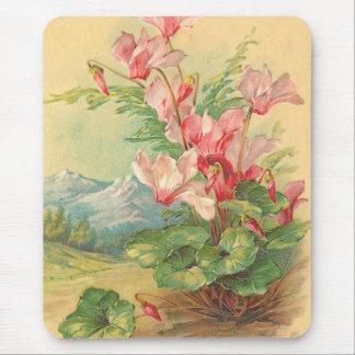 Mousepad Vintage floral