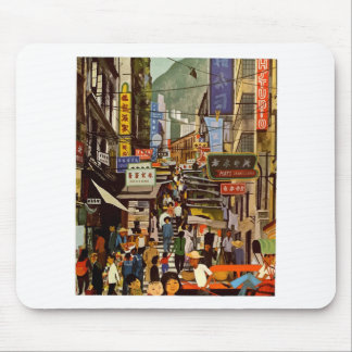 Mousepad Vintage Hong Kong