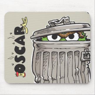 Mousepad Vintage Oscar no balde do lixo