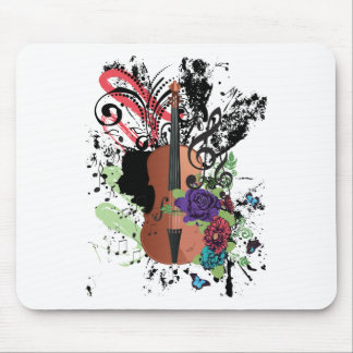 Mousepad Violino Illustration2 do Grunge