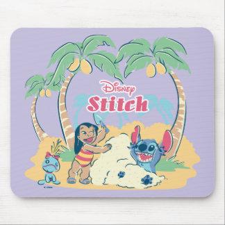 Mousepad Visita vinda | de Lilo & de ponto as ilhas!