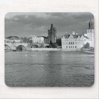Mousepad Vista da ponte de Charles em Praga