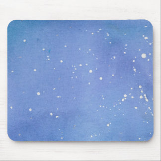Mousepad Watercolour de mármore azul Splat