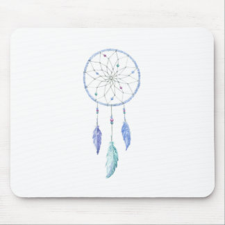 Mousepad Watercolour Dreamcatcher com 3 penas