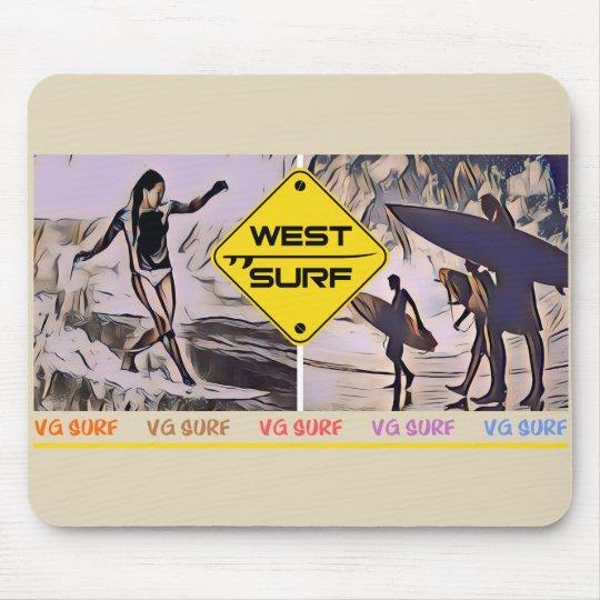 Mousepad West Surf IV