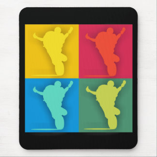 Mousepad wheelie Multi-colorido