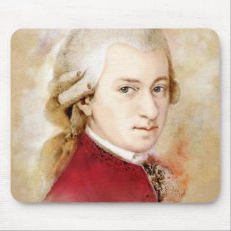 Mousepad Wolfgang Amadeus Mozart na aguarela estilo