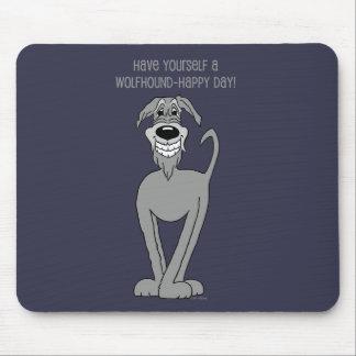 Mousepad Wolfhound irlandesa Smile