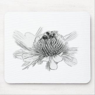 Mousepad Zangão e flor