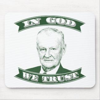 Mousepad Zbigniew Brzezinski no deus que nós confiamos