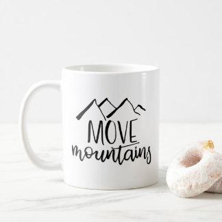 Mova a caneca das montanhas  
