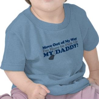 Mova afastado! (menino) tshirt