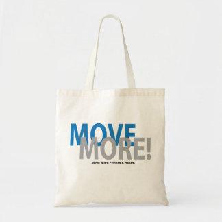 Mova mais saco! bolsa tote