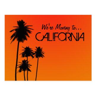 Mover-se para o cartão de Califórnia