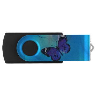 Movimentação customizável do flash do giro de USB Pen Drive Giratório