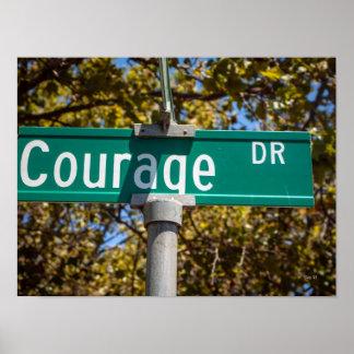Movimentação da coragem poster