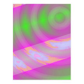 Movimentação da urdidura - cartão da arte do