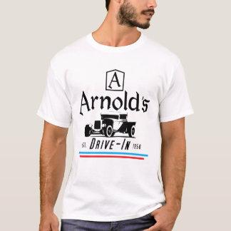 Movimentação de Arnolds na camisa de T