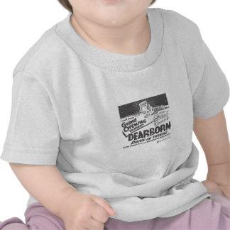 Movimentação de Dearborn dentro T-shirt